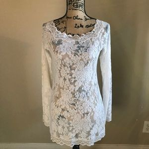 VICTORIA'S SECRET All Lace Lingerie Top / Dress
